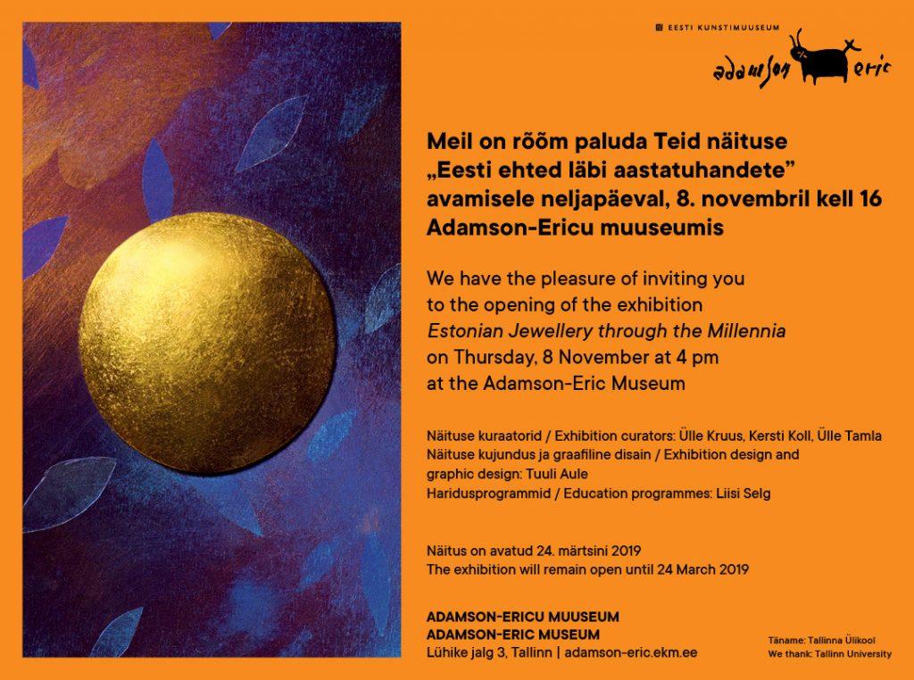e-kutse_Eesti ehted Ad-Ericu Muuseumis